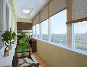 Остекление балкона ПВХ в Рязани